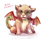 Myth Creature Babies - Chimera