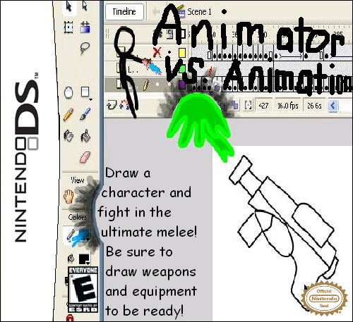 Animator vs. Animation DS Game by YoshiOG1