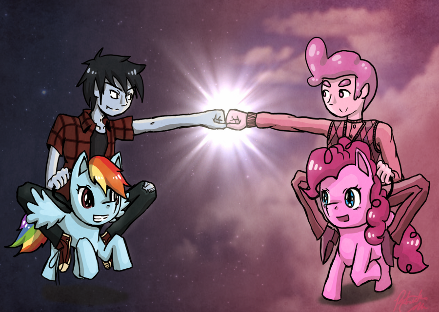Friendship Time by MidoriFlygon