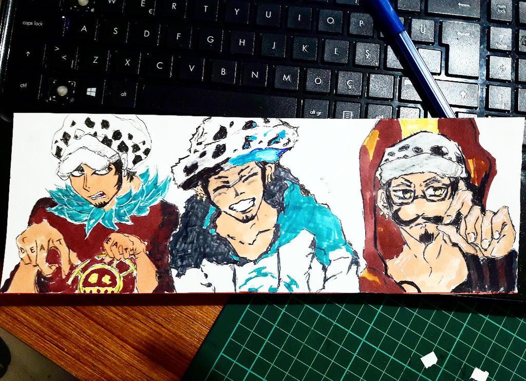 Trafalgar Water D Law  One Piece by MeliXxxx