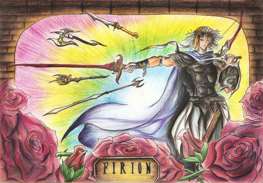 Rainbow Firion - FF2 by Paulcellx on DeviantArt