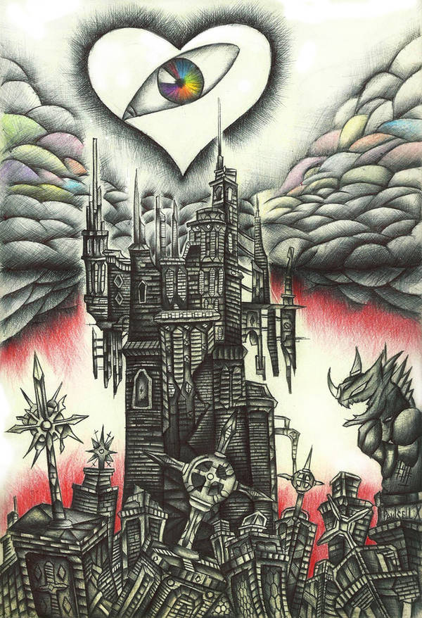 The Tower of the Lost Hearts by Paulcellx