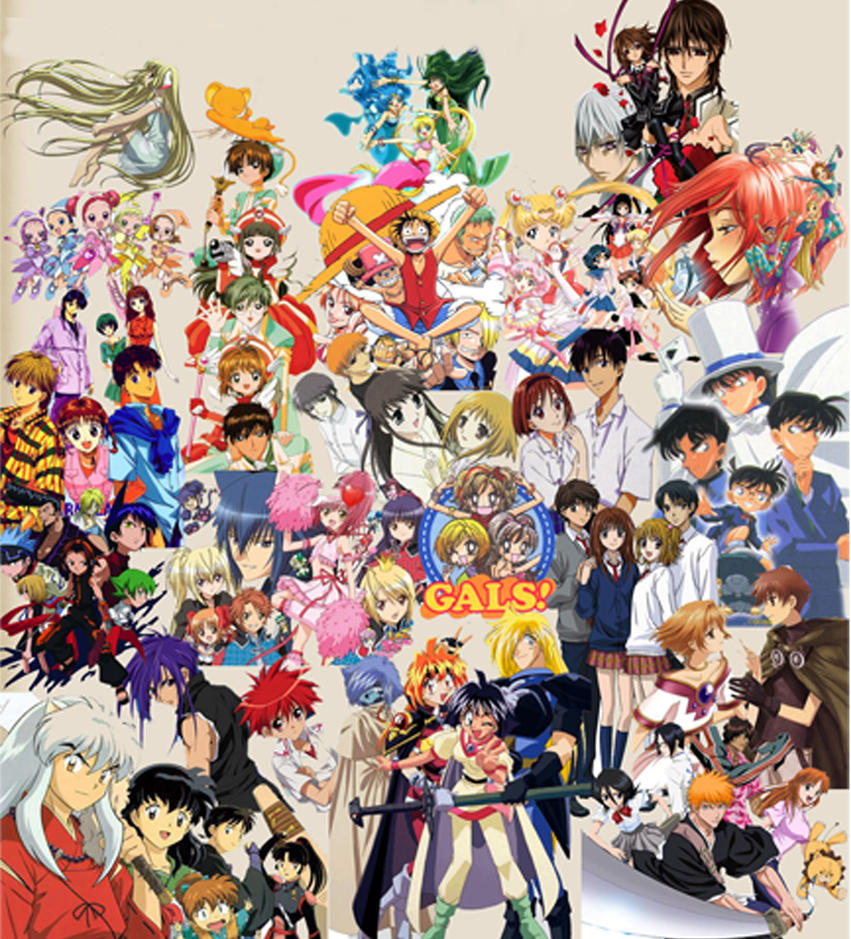 Image Result For Manga Collage Wallpaper