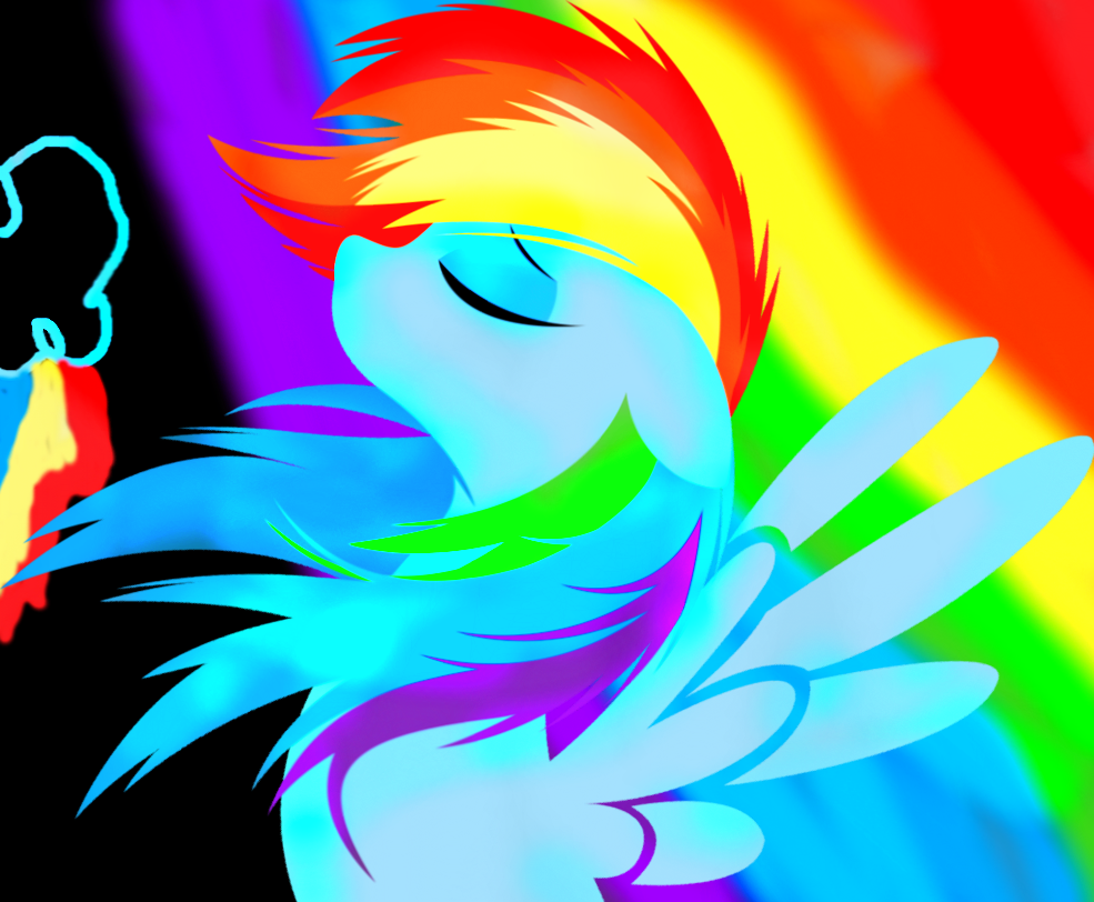 Rainbow Dash Wallpaper by LoveAwesomeHeart on DeviantArt