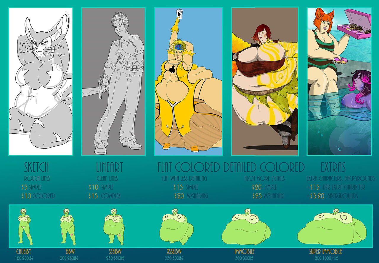 Price guide 2014 by theJiggly