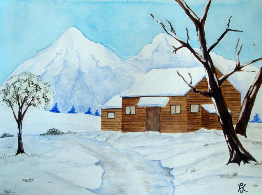 2010 - SnowII by kostaskouk