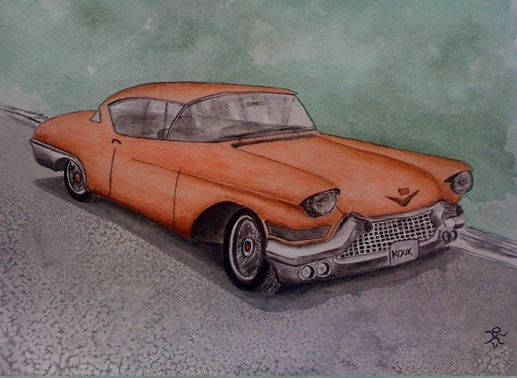 2010.05-Cadillac Eldorado 1957 by kostaskouk