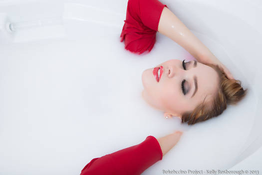 Bath in Red