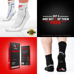 Fuego socks ad