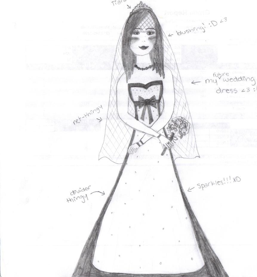 my dream wedding dress by earthgurl10