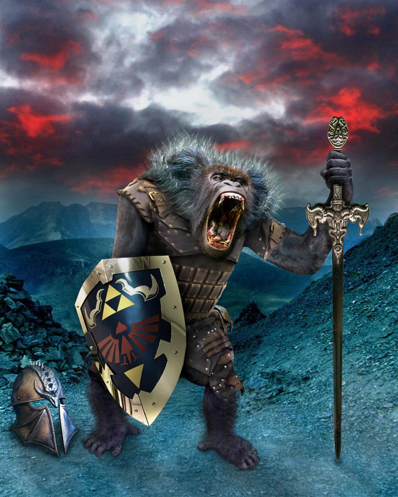 Ape Knight by SilverK99