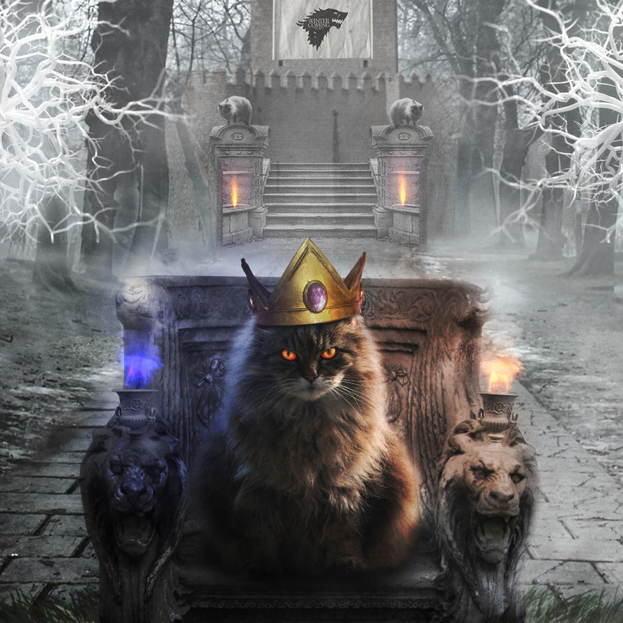 Cats of Thrones by SilverK99