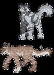 Warrior Cat Adoptables - SET PRICE 2/2 OPEN