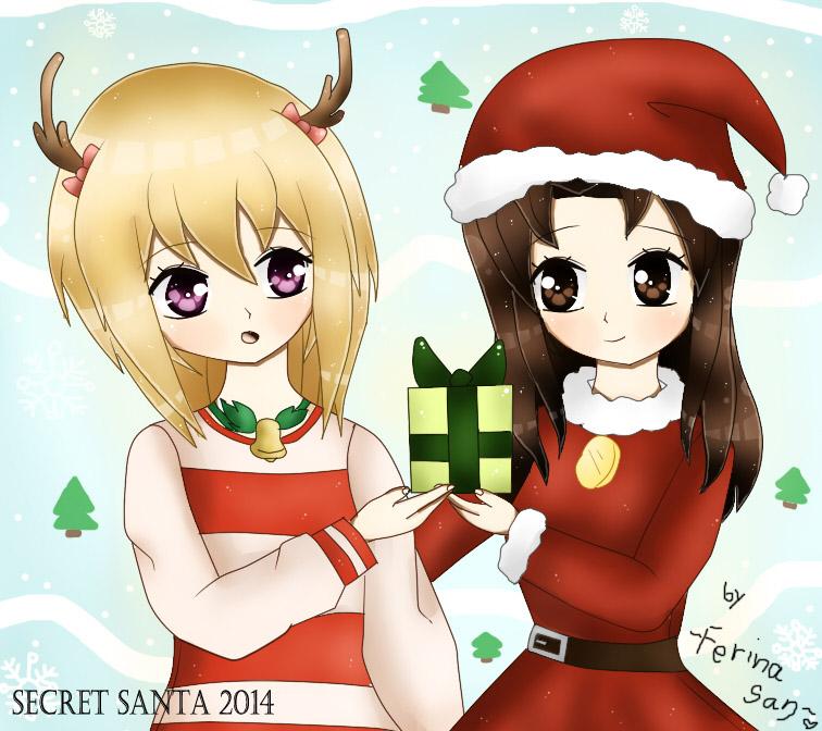 Secret Santa 2014 by Ferina-san