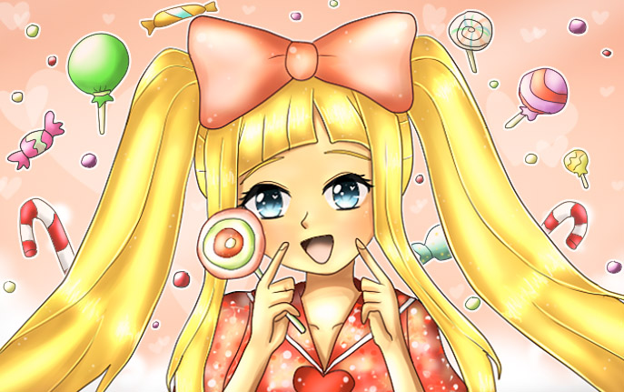 CANDY CANDY - Akemi Kinko by Ferina-san