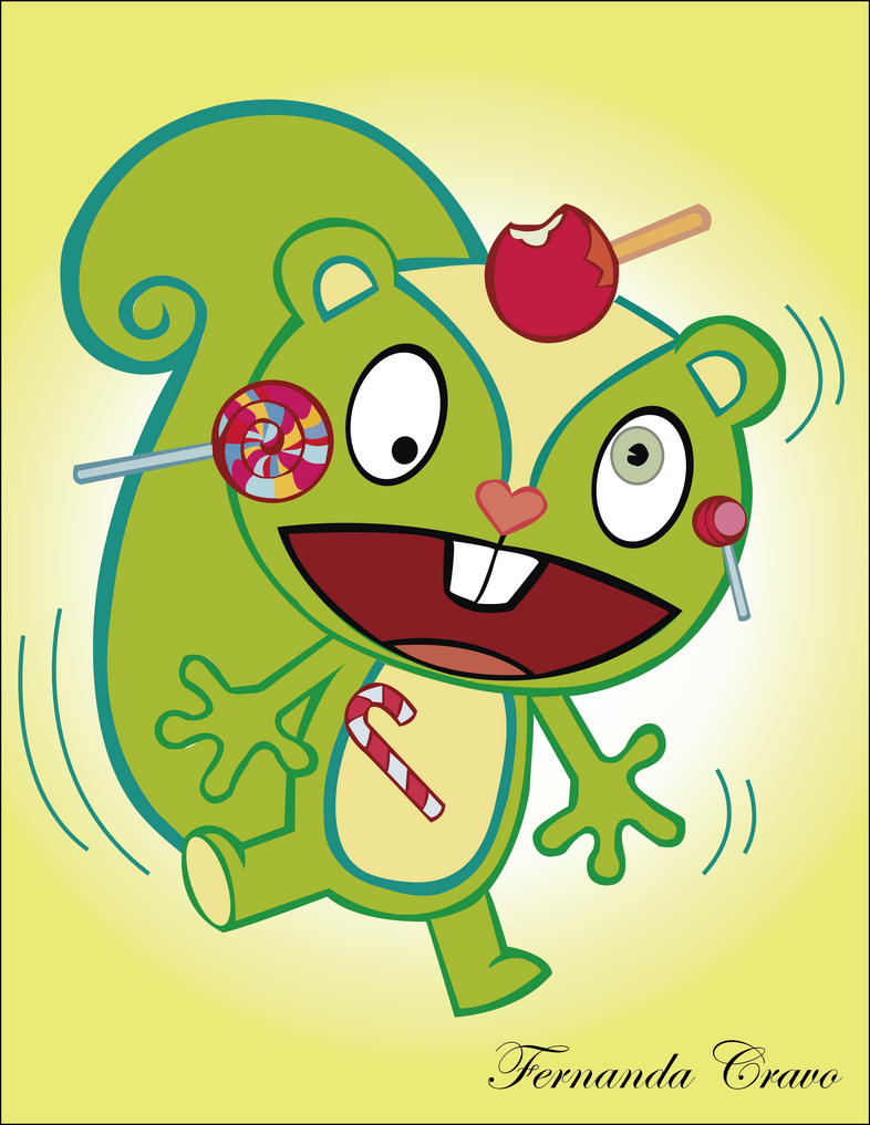 Nutty - Happy Tree Friends by proposalofhappines on DeviantArt Happy Tree Friends Wallpaper Nutty