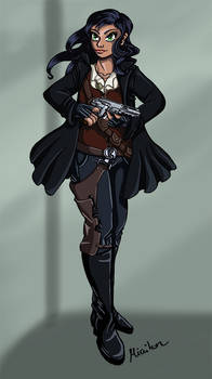 Character Design - Samantha Solo