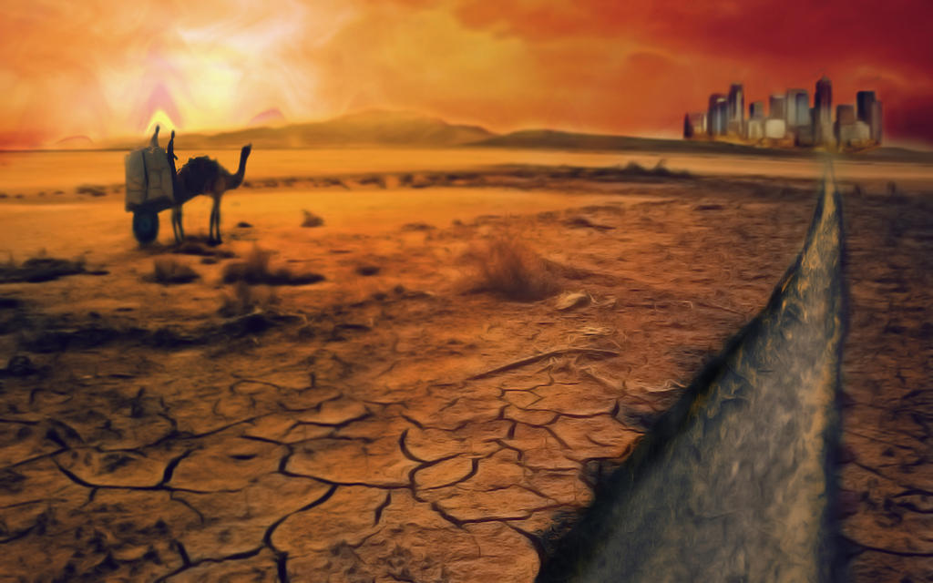 Desert City by AndrewDavidH