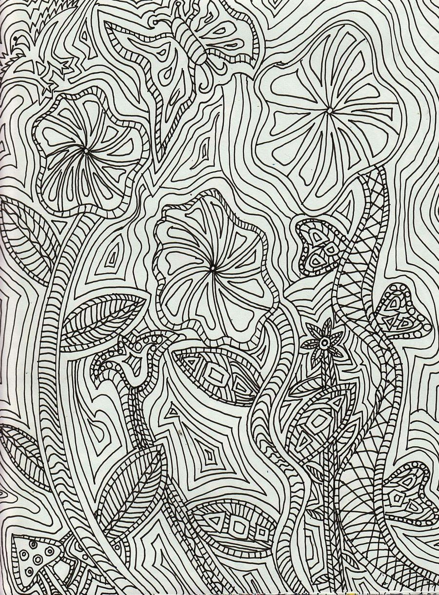 Abstract Line Art Paintings : Delightful line art by merpagigglesnort on deviantart