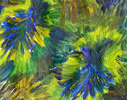 bursts of spring by merpagigglesnort