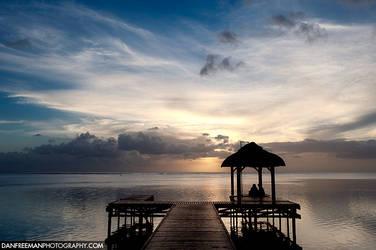 Mauritius Sunset by DanFreeman