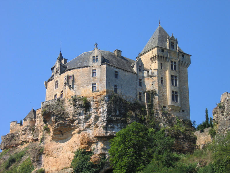 Dordogne - Castle 1 by Maliciarosnoir-stock