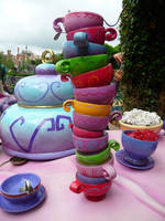Disneyland Paris - Alice in Wonderland -4- by Maliciarosnoir-stock