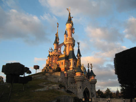 Disneyland Paris - Castle -9-