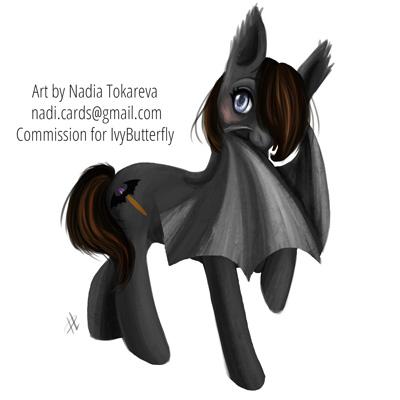 Bat Pony by Daina-Lockie