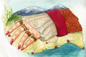 Hand of Power by Daina-Lockie