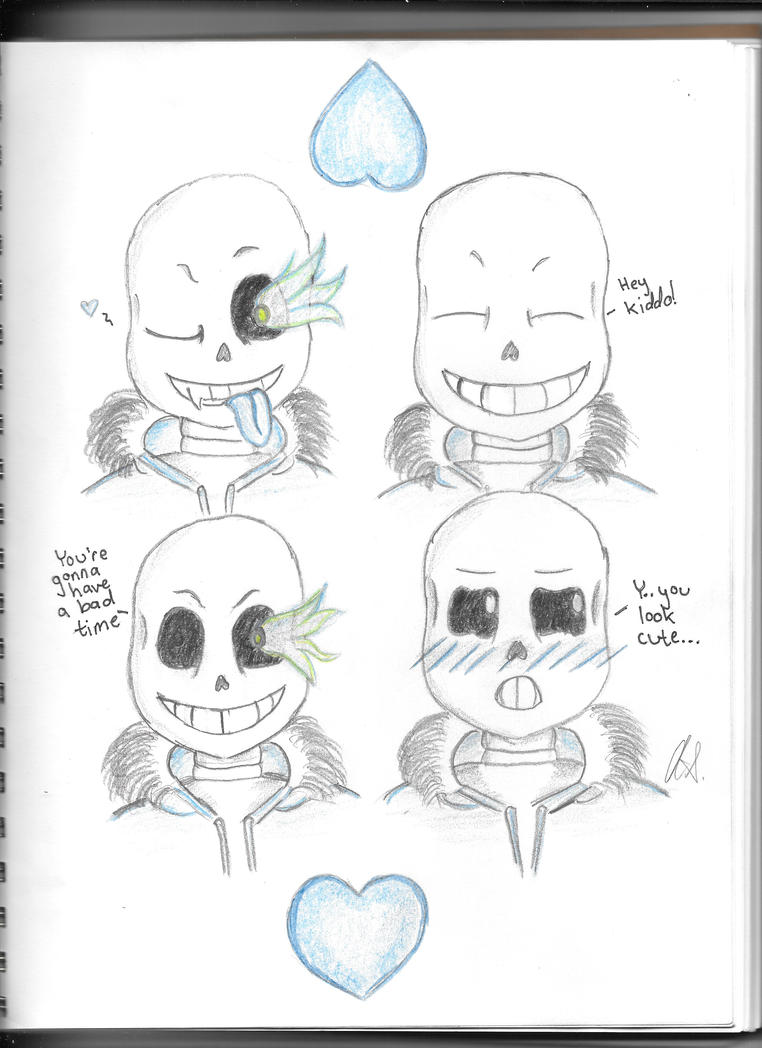 Expressions of Sans by VelvetBlue15