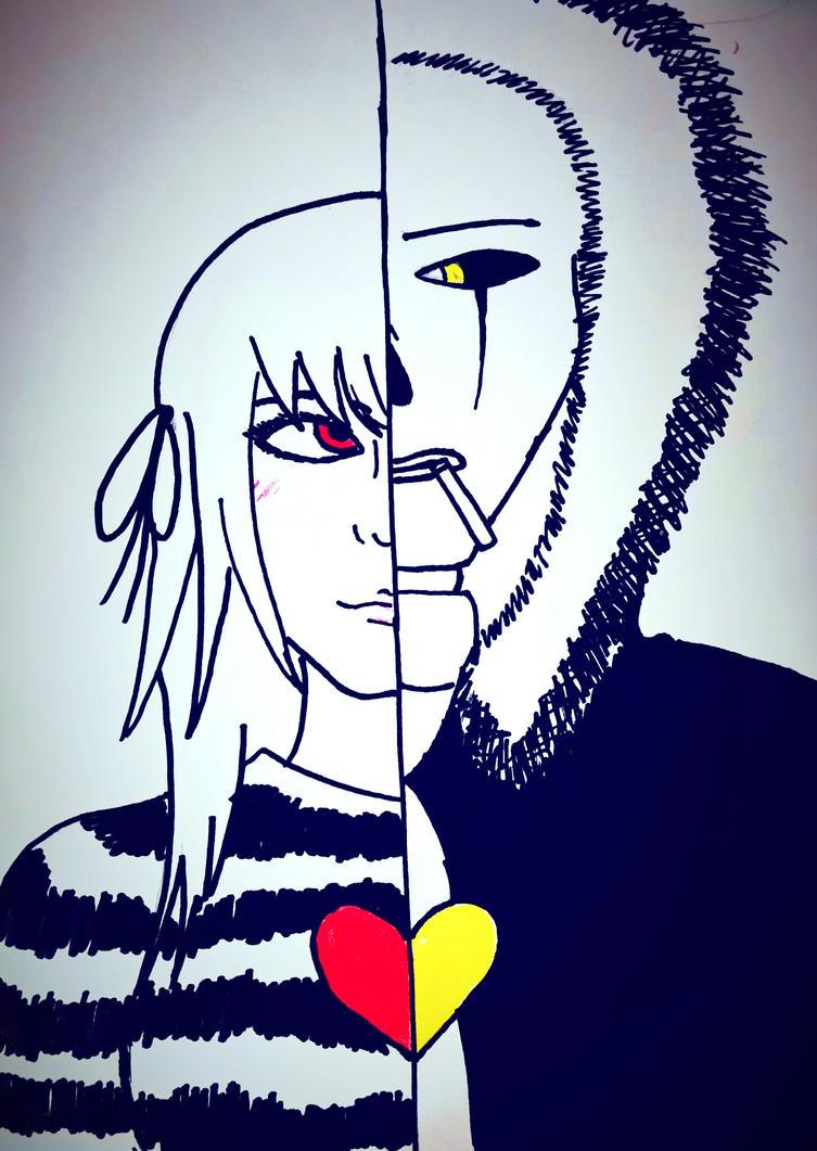 Shape of You -cover- (G!SansxFrisk) by VelvetBlue15