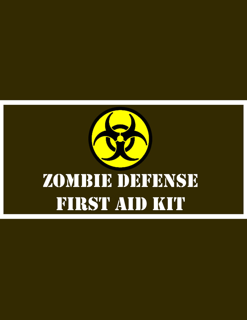 Zombie Survival Kit Part 1: First Aid Kit by KerriChan on ...