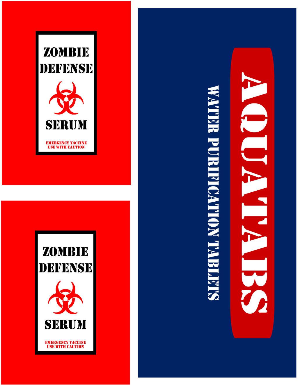 Набор против зомби своими руками шаблоны