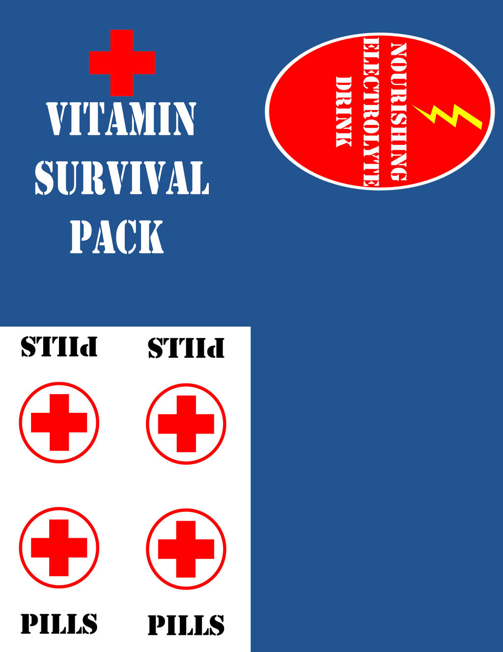 Zombie Survival Kit Part 3 : Servival Pack by KerriChan on ...