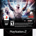 Wwe11 dvd cover ps2