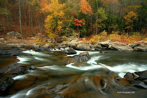 Russell Fork River by TRBPhotographyLLC