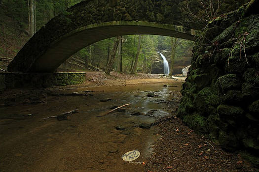 Lower Falls Hocking Hills