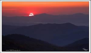 Sunrise on the Blue Ridge by TRBPhotographyLLC