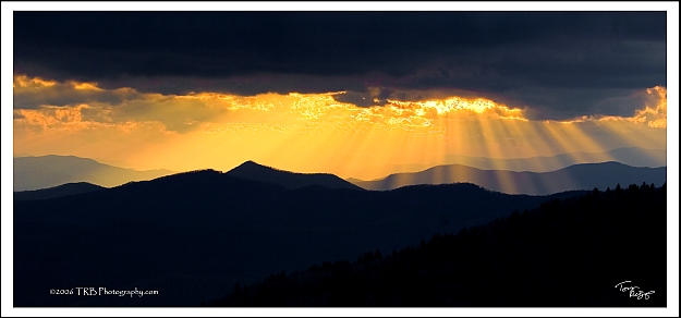 Rays From God by TRBPhotographyLLC