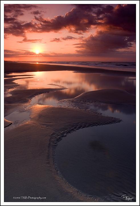 South Carolina Sunrise by TRBPhotographyLLC
