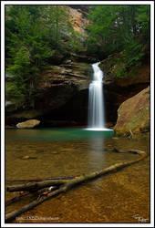 Lower Falls Jan 07 by TRBPhotographyLLC