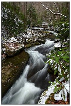 Snowy Spring Flow
