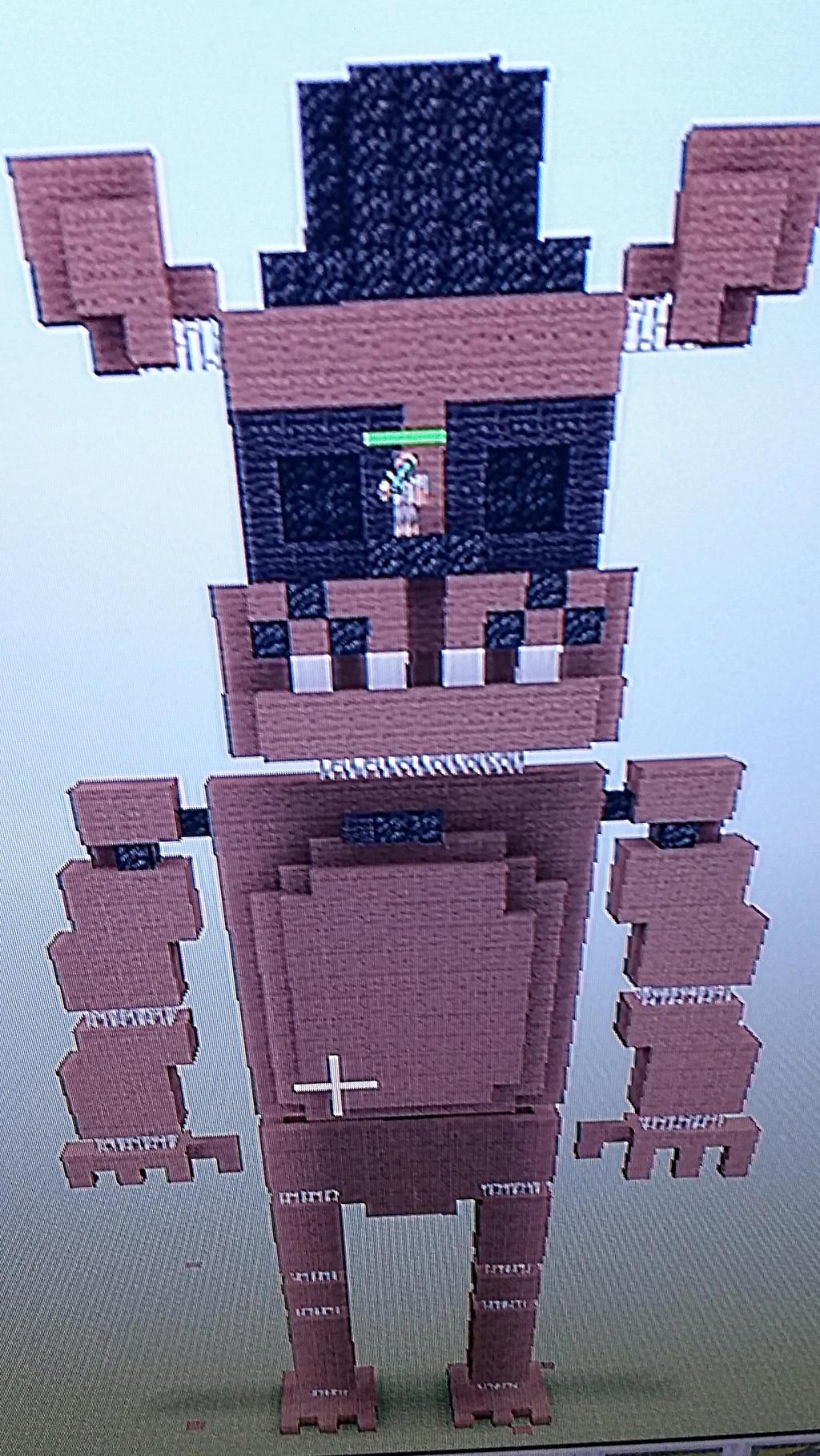 Minecraft Toy Freddy : Freddy in minecraft by toy mangle on deviantart
