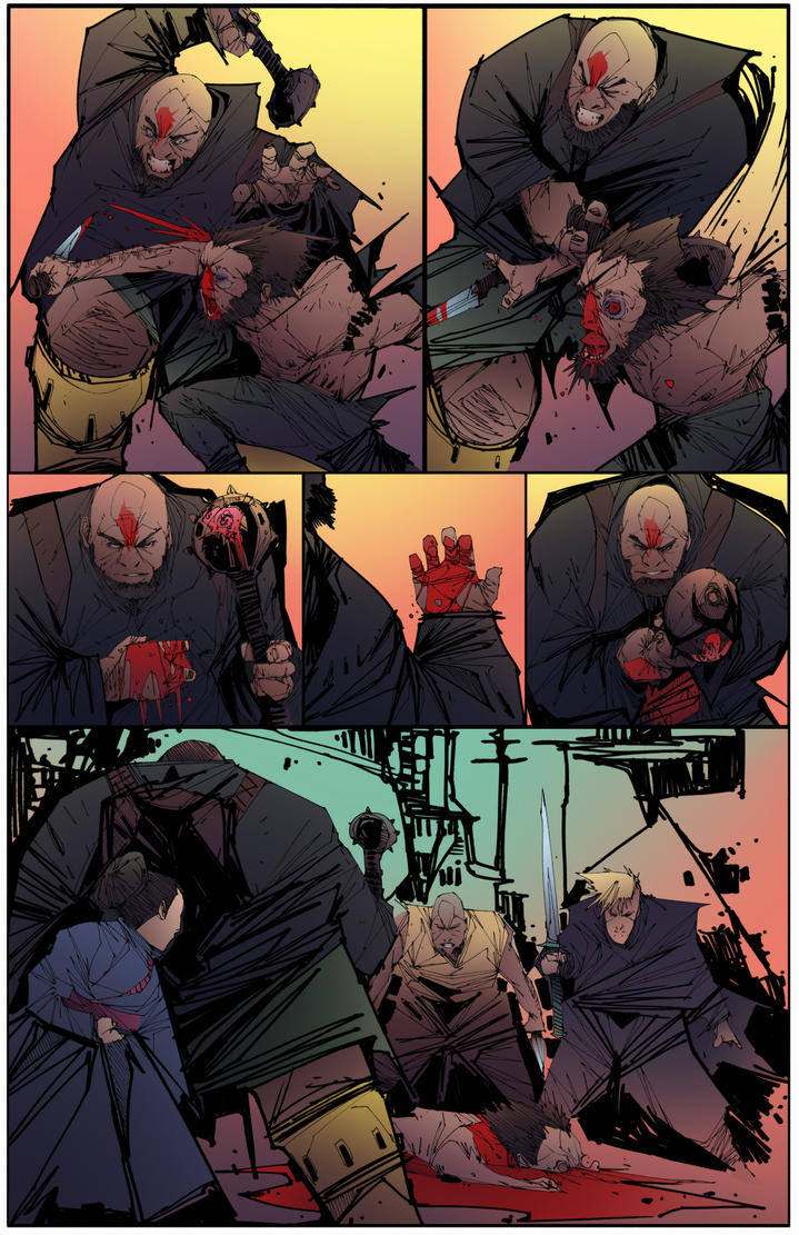 Issue 3 art from Scrimshaw by Mims1105