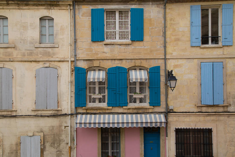 Windows in Arles by ShinySilver