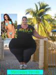 Fat Hollywood: Mercedes Terrell Pre Photoshot 2