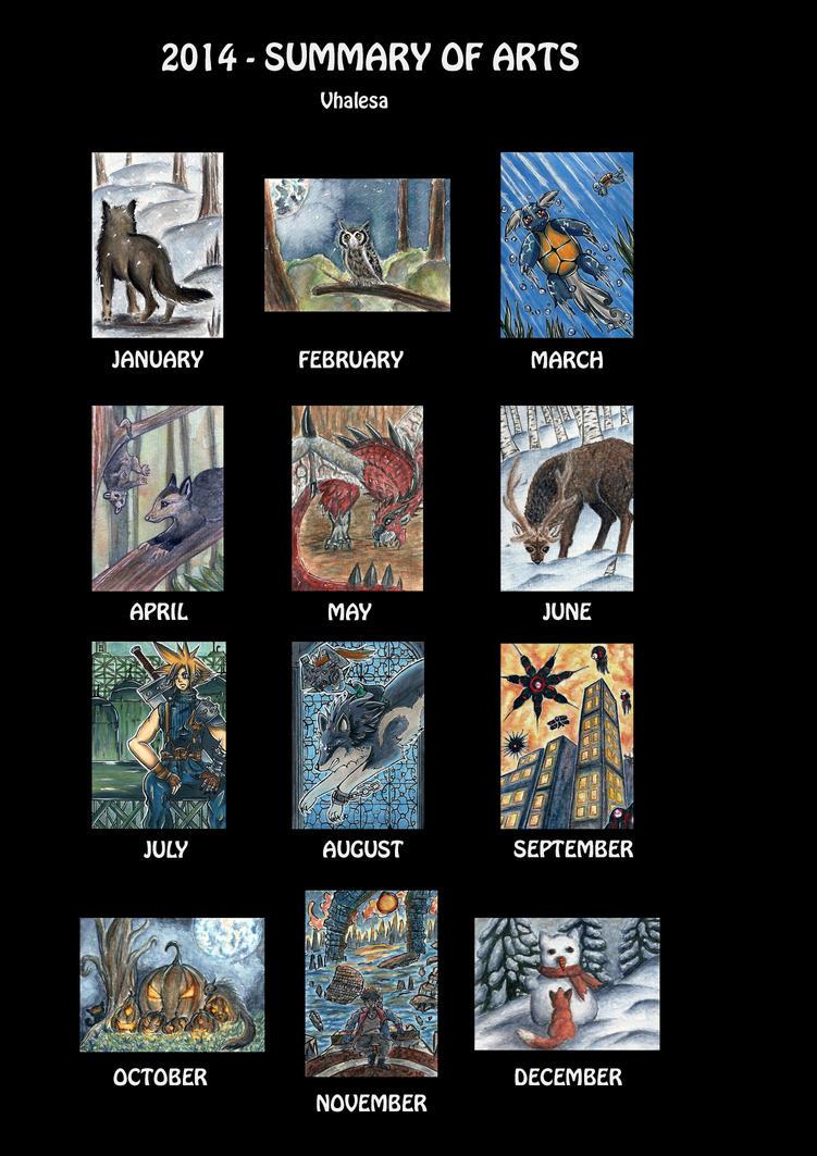 summary of arts 2014 by Vhalesa