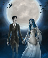 The Corpse Bride by Icelandic-catlover