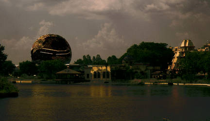 Life After Disney: Epcot Veiw